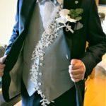 結婚式でタキシードとドレスで同じ調子のアレンジを加えてみたい!